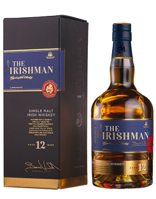 The Irishman 12 Years Old Irish Whiskey 0,7L