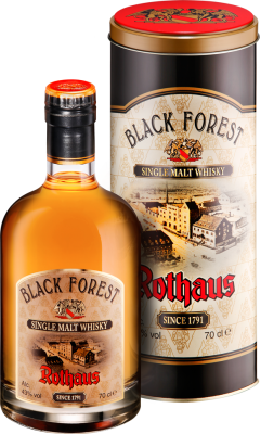 Black Forest Rothaus Single Malt Whisky 43% 0,7L
