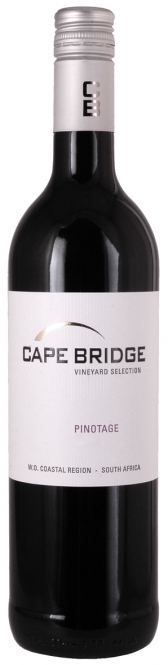 2015 Pinotage Vineyard Selection Cape Bridge 0,75L